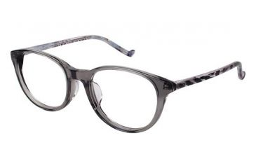 Visions 212A Eyeglass Frames - Frame Translucent Grey, Size 50/19mm VIVISION212A03