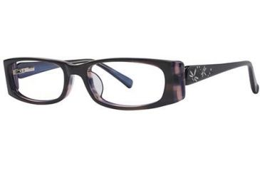Visions 172 Bifocal Prescription Eyeglasses - Frame Black/Purple, Size 50/16mm VIVISION17201