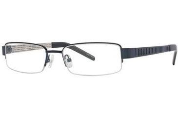 Visions 177 Eyeglass Frames - Frame Blue/Silver, Size 54/17mm VIVISION17701