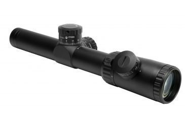 Vism 1.1-4X24 Evolution Series Scope Riflescope - P4 Sniper Glass Etched Reticle VEVOFP11424G