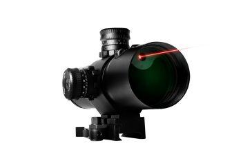 Vism 3X42 CBT Series Red Laser Prismatic Riflescope - Mil-Dot Reticle VCBTRM342G