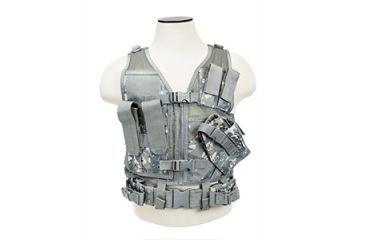 Vism Childrens Tactical Vest, Digital Camo CTVC2916D