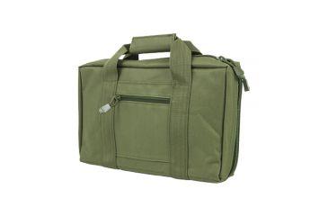 VISM Discreet Handgun/Pistol Case, Green, 10.75in.x2in.x13.5in. 196657