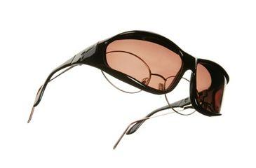 Vistana Black Frame L Copper Polare Lens Sunglasses W302C