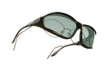 Vistana Black Frame L Gray Polare Lens Sunglasses W302G