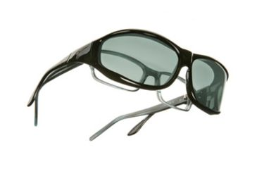 Vistana Black Frame M Gray Polare Lens Sunglasses W402G