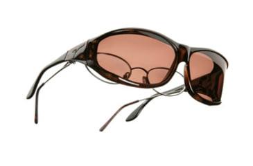 Vistana Tort Frame M Copper Polare Lens Sunglasses W403C
