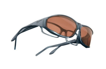 Vistana Steel Frame M Copper Polare Lens Sunglasses W404C