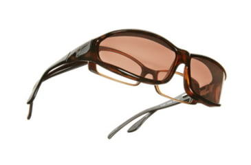 Vistana Tort Frame MS Copper Polare Lens Sunglasses W413C