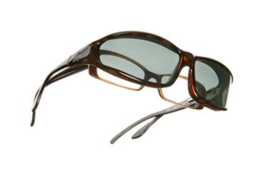 Vistana Tort Frame MS Gray Polare Lens Sunglasses W413G