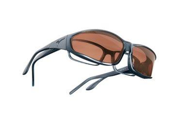 Vistana Steel Frame MS Copper Polare Lens Sunglasses W414C