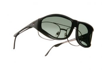 Vistana Soft Black Frame XL Gray Polare Lens Sunglasses WS202G