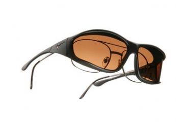 Vistana Soft Black Frame L Copper Polare Lens Sunglasses WS302C