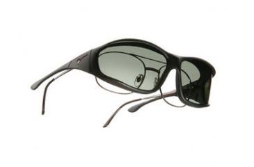 Vistana Soft Black Frame L Gray Polare Lens Sunglasses WS302G