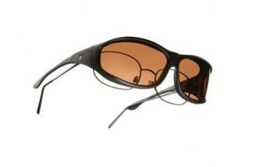 Vistana Soft Black Frame M Copper Polare Lens Sunglasses WS402C