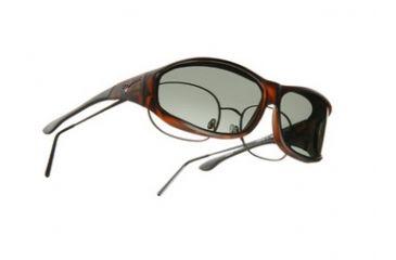 Vistana Soft Touch Tort Frame M Gray Polare Lens Sunglasses WS403G