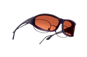 Vistana Soft Touch Violet Frame M Copper Polare Lens Sunglasses WS406C