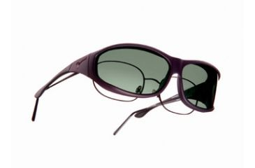 Vistana Soft Touch Violet Frame M Gray Polare Lens Sunglasses WS406G