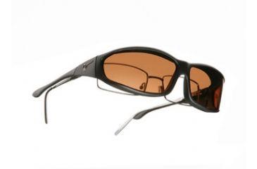 Vistana Soft Black Frame MS Copper Polare Lens Sunglasses WS412C