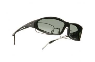 Vistana Soft Black Frame MS Gray Polare Lens Sunglasses WS412G