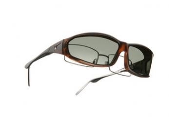 Vistana Soft Touch Tort Frame MS Gray Polare Lens Sunglasses WS413G