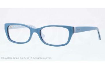 Vogue BABY 83 VO2811 Single Vision Prescription Eyeglasses 2075-45 - Light Blue/dark Blue/azure Frame, Demo Lens Lenses