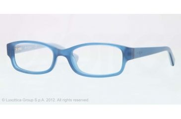 Vogue BABY 84 VO2812 Progressive Prescription Eyeglasses 2109-46 - Opal Blue Frame, Demo Lens Lenses