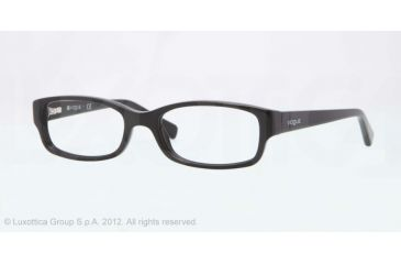 Vogue BABY 84 VO2812 Progressive Prescription Eyeglasses W44-46 - Black Frame, Demo Lens Lenses