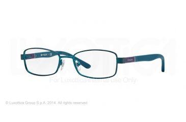 Vogue BABY 88 VO3926 Progressive Prescription Eyeglasses 958S-46 - Matte Metallized Green Frame