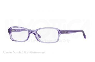 Vogue BABY86 VO2882 Eyeglass Frames 1820-46 - Transparent Violet Frame