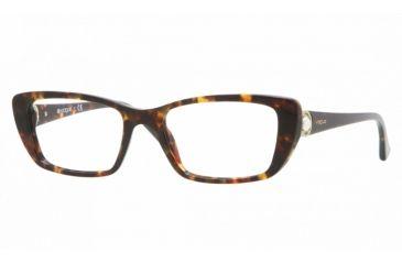 Vogue VO2749H Eyeglass Frames W656-5318 - Dark Havana Frame
