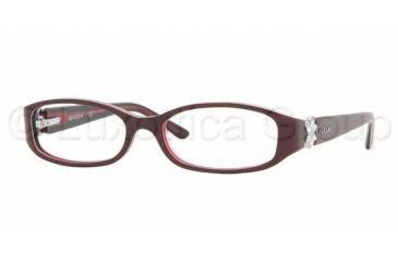 Vogue VO 2548B Eyeglasses, Top Violet/Light Violet Frame w/NonRx 51 mm Diameter Lenses, 1538 5115