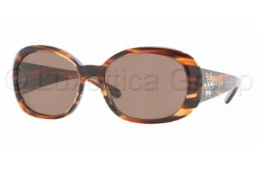 Vogue VO 2562SB Sunglasses Styles - Striped Brown Brown Frame, 162773-5216