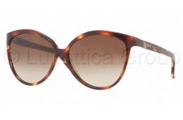 Vogue VO 2623S Sunglasses Styles Light Havana Frame / Brown Gradient Lenses, 172313-5613