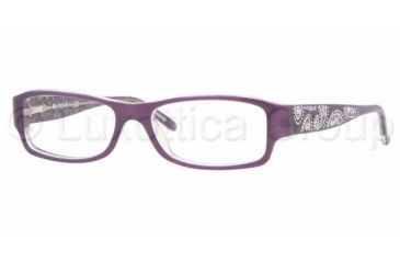 5b3db759b5 Vogue VO 2625B Eyeglasses Styles - Top Violet-Transparent Frame w Non-Rx