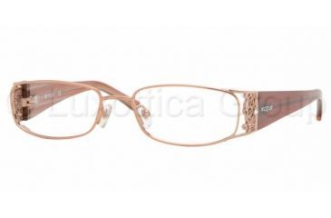 Vogue VO 3661B Eyeglasses Styles Orange Frame w/Non-Rx 52 mm Diameter Lenses, 813-5216, Vogue VO 3661B Eyeglasses Styles Orange Frame w/Non-Rx 52 mm Diameter Lenses