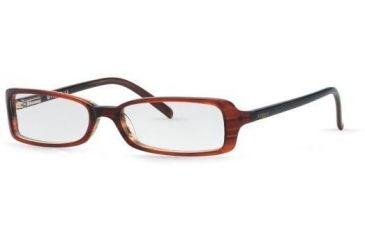 Vogue VO2373-1345-4915 Eyeglasses Frames w/ Free S&H Black Top On Horn Beige Frame / 49 mm Non-Rx Lenses