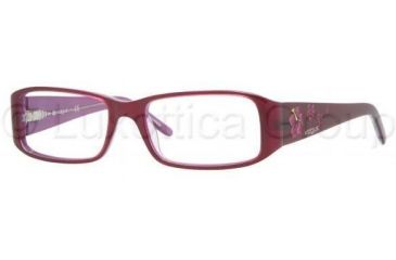 Vogue VO2635 Progressive Prescription Eyeglasses 1650-5016 - Top Violet/Transparent