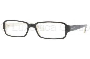 Vogue VO2666 Single Vision Prescription Eyewear 1345-5216 - Top Black/Sand