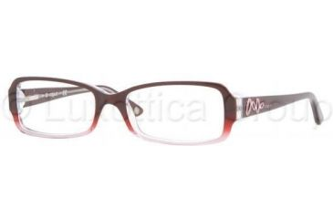 Vogue VO2675B Single Vision Prescription Eyewear 1849-5116 - Red/Pink Gradient