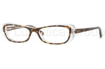 Vogue VO2707 Progressive Prescription Eyeglasses 1916-5016 - Light Havana Frame