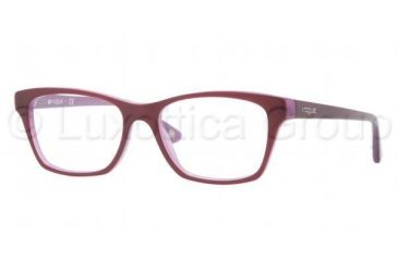 Vogue VO2714 Single Vision Prescription Eyeglasses 2015-5216 - Top Dark Violet / Violet Frame