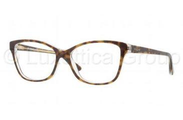 Vogue VO2740 Progressive Prescription Eyeglasses 1916-5215 - Light Havana Frame, Demo Lens Lenses