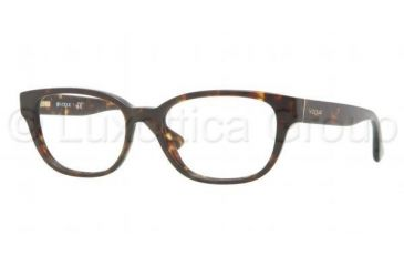 Vogue VO2747 Progressive Prescription Eyeglasses W656-5217 - Havana Frame