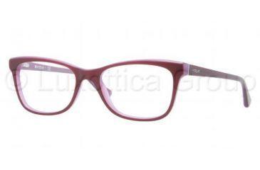 Vogue VO2763 Bifocal Prescription Eyeglasses 2015-5117 - Top Dark Violet / Violet Frame