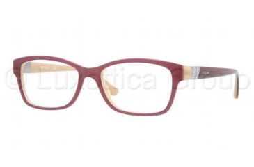 Vogue VO2765B Bifocal Prescription Eyeglasses 1984-5116 - Top Violet / Sand Frame, Demo Lens Lenses