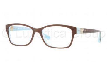 Vogue VO2765B Eyeglass Frames 2011-5116 - Top Light Brown Opal Frame, Demo 862c6096c4