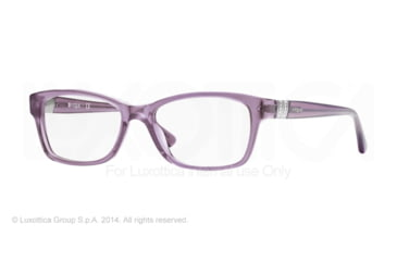 Vogue VO2765B Prescription Eyeglasses 2195-51 - Opal Violet Transparent Frame
