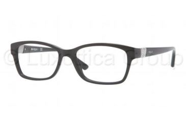 Vogue VO2765B Single Vision Prescription Eyeglasses W44-5116 - Black Frame