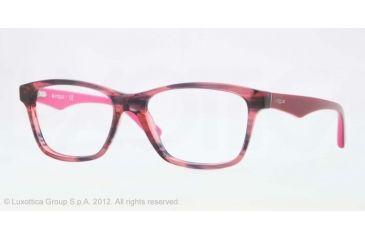 Vogue VO2787 Bifocal Prescription Eyeglasses 2061-51 - Striped Black Cherry
